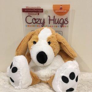 Cozy Hugs Aromatherapy microwaveable cuddly dog